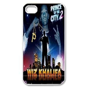 Fggcc Wiz Khalifa Case for Iphone 4,4S,Wiz Khalifa Iphone 4,4S Cell Phone Case (pattern 15)