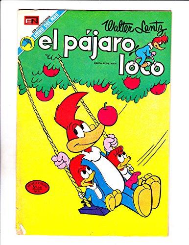Woody Woodpecker Art - El Pajaro Loco No 425-1973 -Spanish Woody Woodpecker-