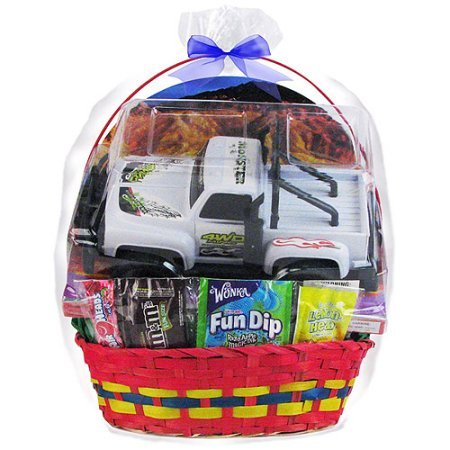 Amazon easter gift basket 4x4 truck toy favorite candies amazon easter gift basket 4x4 truck toy favorite candies color will vary toys games negle Gallery
