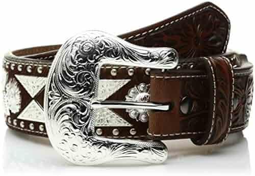 A1017808 Gordels Heren: accessoires Ariat Tapered Embossed Belt