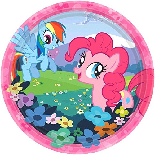 (Dessert Plates | My Little Pony Friendship Collection | Party Accessory )