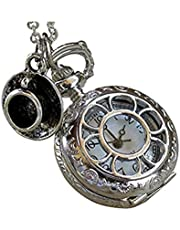 Alice in Wonderland Pocket Watch Necklace Costume Accessory
