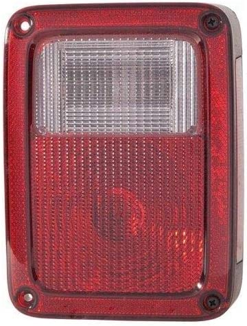 Partslink Number CH2800177 Sherman Replacement Part Compatible with Jeep Wrangler Sahara Driver Side Taillight Assembly