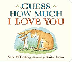 """Guess How Much I Love You is a modern classic filled with warmth and tenderness about the boundless love a parent has for their child, now in a format that's just right for little hands to hold. "" - Seira Wilson, Amazon Editor How much will ..."