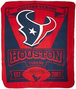 "NFL Marque Printed Fleece Throw, 50"" x 60"""