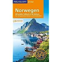 POLYGLOTT on tour Reiseführer Norwegen: Mit großer Faltkarte und 80 Stickern