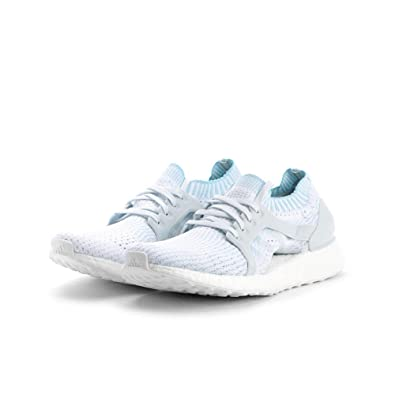 004137c11c61a ... spain amazon adidas ultraboost x parley shoe womens running 7.5 icey  blue white icey blue road
