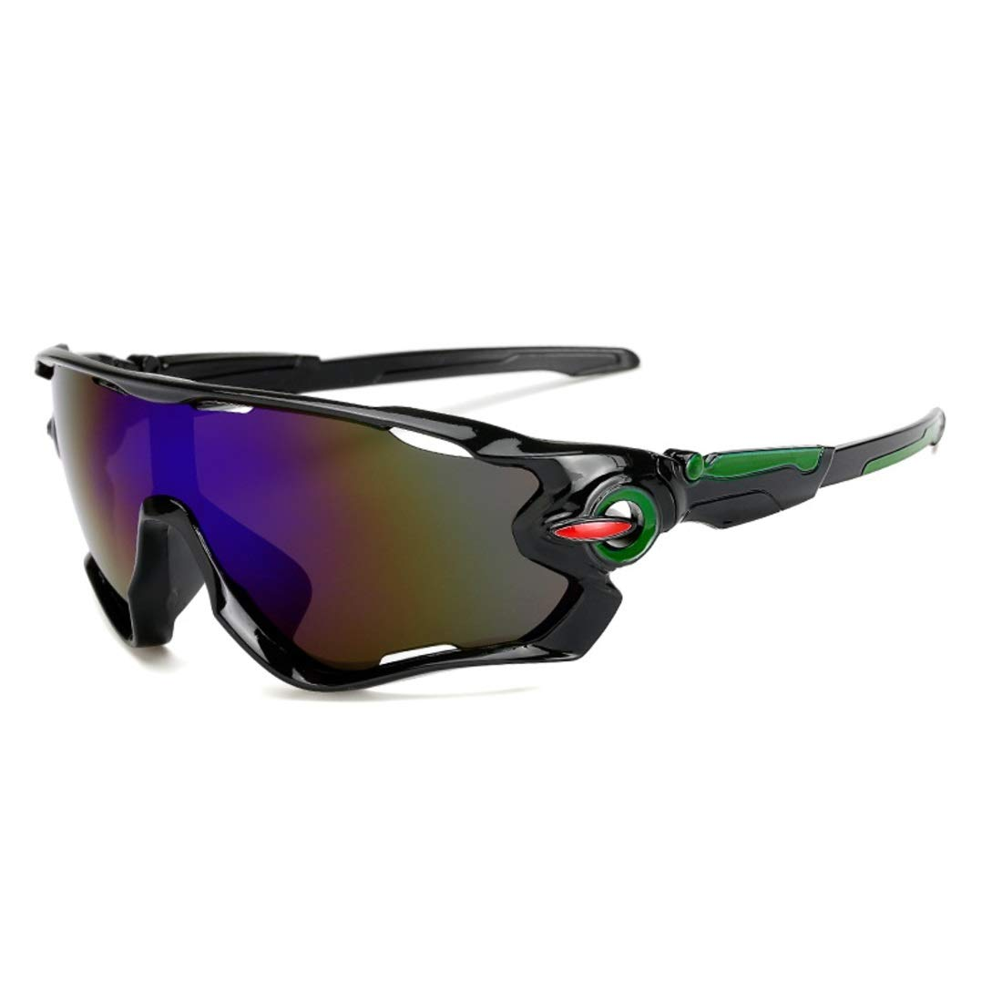 BAOYIT Outdoor Riding Windproof Sand-Proof Glasses Men and Women Riding Equipment Riding Sunglasses Protection Eye Glass (Color : B) by BAOYIT