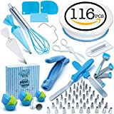 Pepe Nero Cake Decorating Supplies Set 116pc Cookie Cupcake Icing Tools Deal (Small Image)