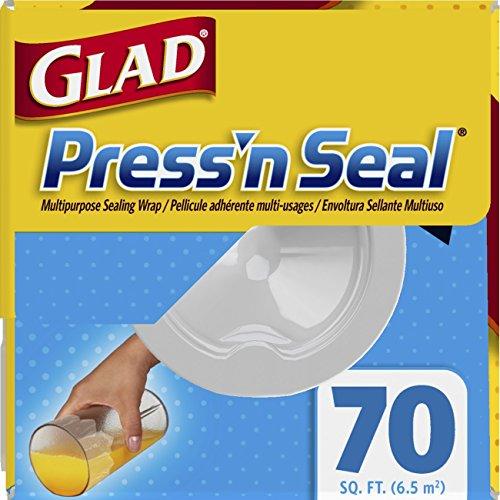 012587704417 - Glad Press'n Seal Food Plastic Wrap - 70 Square Foot Roll carousel main 3