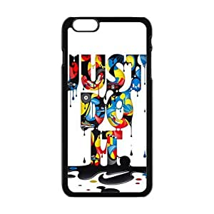 Cool Painting Creative Just Do It Fashion Comstom Plastic case cover For Iphone 6 Plus