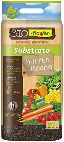 Flower 80152 80152-Substrato huerto Urbano, 20 l, No Aplica ...
