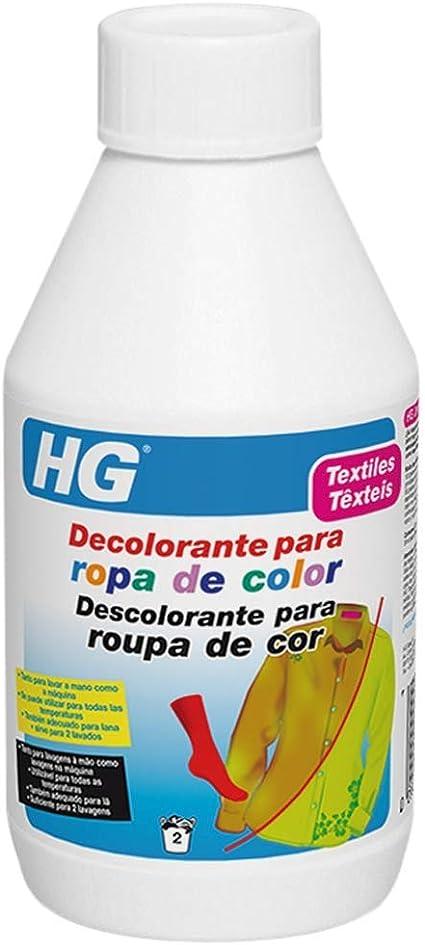 Hg Decolorante Para Ropa De Color 200gr Da Nueva Vida A La Ropa Descolorida Amazon Es Salud Y Cuidado Personal