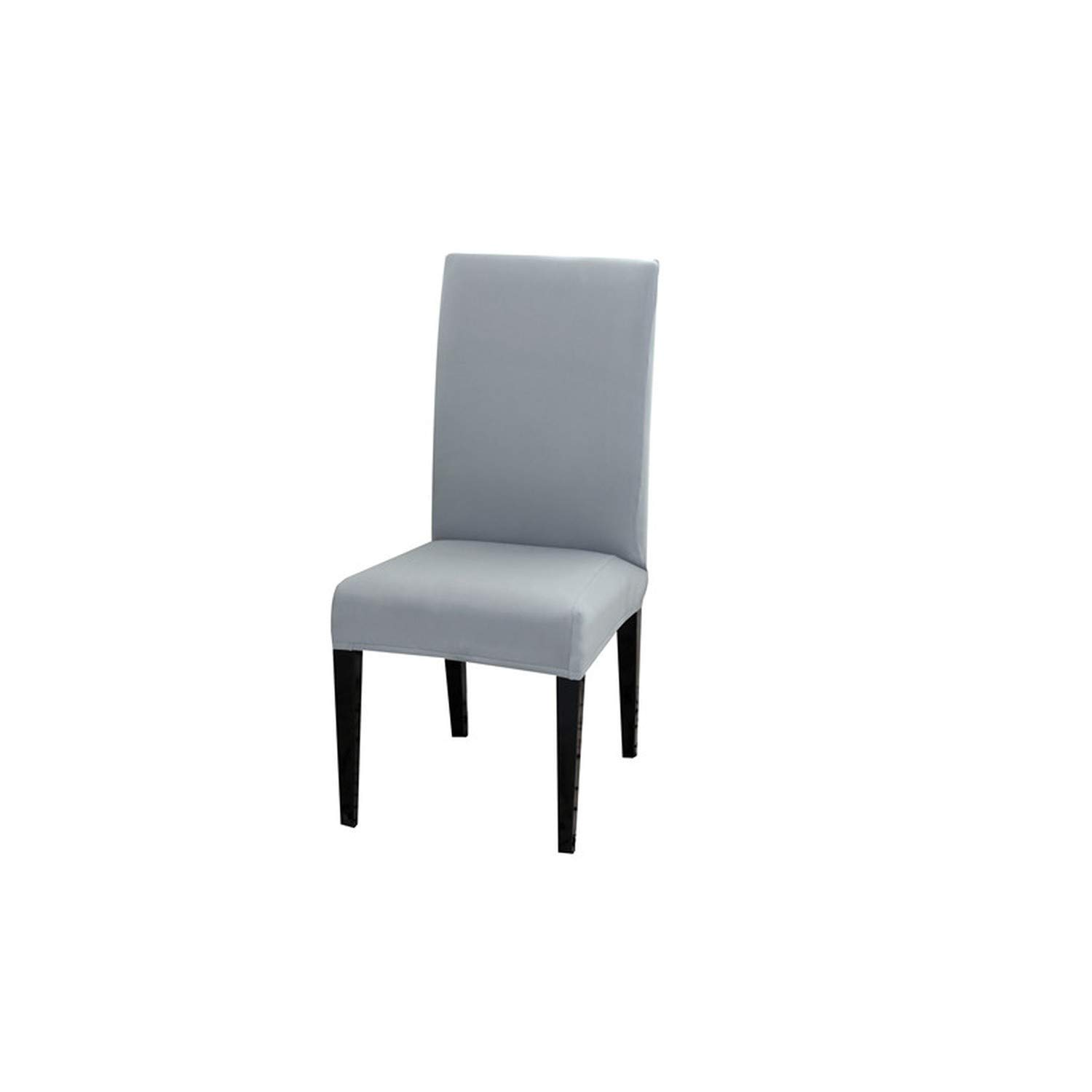 Solid Color Spandex Chair Cover Stretch Elastic Slipcovers Chair Covers for Dining Room Kitchen Wedding Banquet Hotel funda sill,Color 10,Universal Size