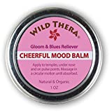 Natural Depression Relief. Joy. Mood Uplift Herbal Balm. Use with Depression Pills, Anti-Anxiety Pills, Depression Supplement, Aromatherapy, Depression Light Lamp and other Natural Antidepressants.