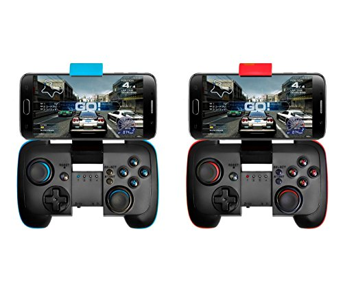 Shalleen 1pcs Bluetooth Wireless Gamepad Game Controller for Android iOS Mobile Smart Phone PC