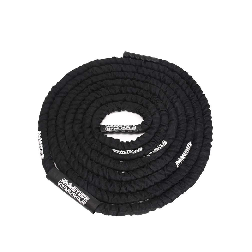 BAI-Fine Battle Rope - 38mm Width Poly Dacron 9m/12m/15m Length Exercise Undulation Ropes - Gym Muscle Toning Metabolic Workout Fitness Exercise (Color : Diameter 38cm, Size : 9m) by BAI-Fine (Image #4)
