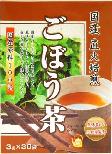 リケン 国産直火焙煎ごぼう茶 3g×30袋