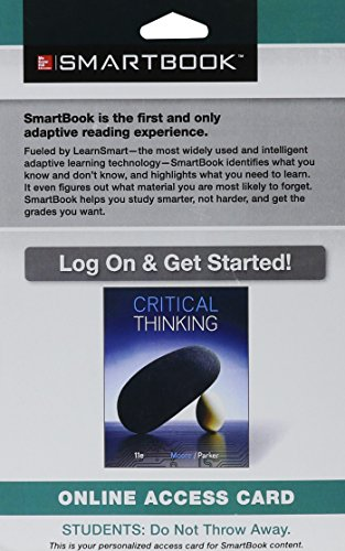 SmartBook Access Card for Critical Thinking