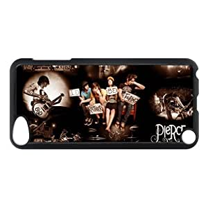 Band Pierce The Veil Hard Case Cover Skin for iPod Touch 5 5G 5th Generation- 1 Pack - Black/White - 5-Perfect Gift for Christmas