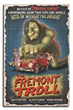 The Fremont Troll Movie Poster (10x15 Wood Wall Sign, Wall Decor Ready to Hang)