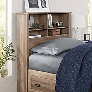 Better Homes And Gardens Lafayette Twin Bookcase Headboard Washed Oak Finish