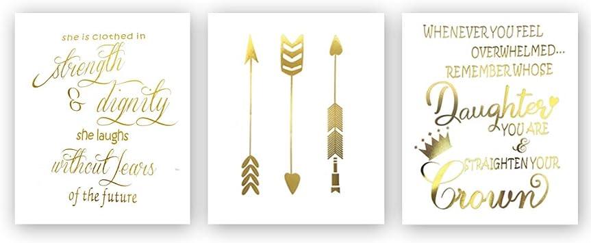 Amazon.com: Sanrx - Cuadro de tipografía de moda ...