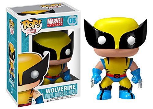 Marvel Wolverine POP Figure Toy 3 x 4in (Colossus Costume)