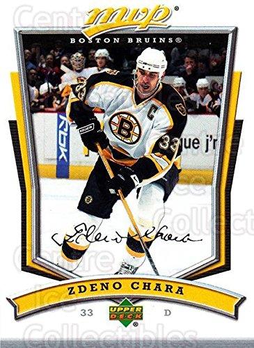 (CI) Zdeno Chara Hockey Card 2007-08 Upper Deck MVP (base) 42 Zdeno Chara (08 Upper Deck Ice)