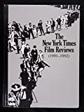 img - for NYT FILM REV 1991-92 V18 (New York Times Film Reviews) book / textbook / text book