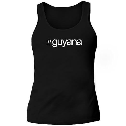 Idakoos Hashtag Guyana - Paesi - Canotta Donna