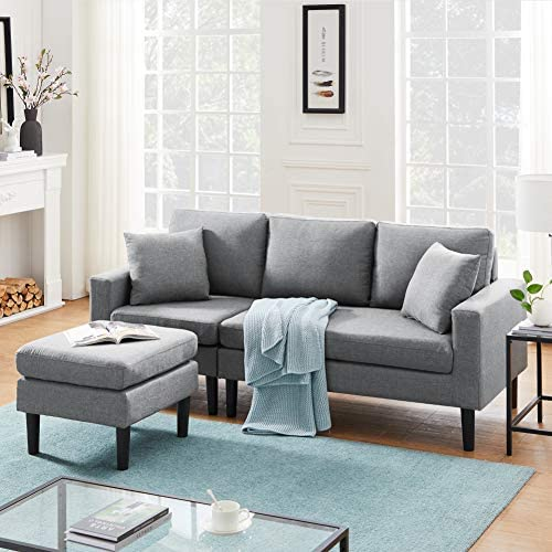Zushule Convertible Sectional Couch