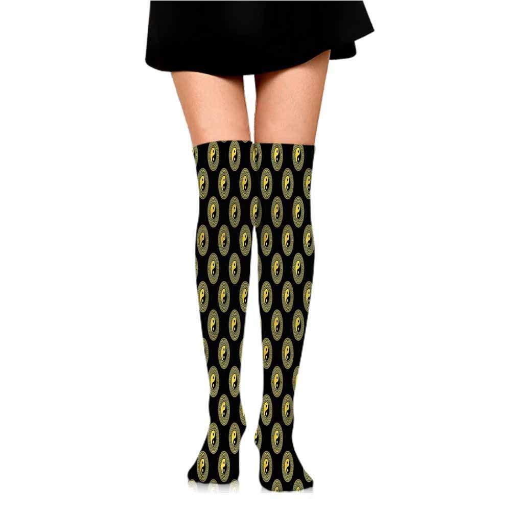 Comfortable and Breathable 1 Pair Mens Socks Yin and Yang,Human Portraits,socks women low cut