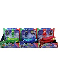 PJ Masks Heroes 6 Piece Character and Vehicle Set