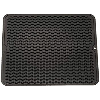 Amazon Com Kohler Storable Large Silicone Dish Drying Mat