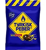 4 x bags of 150g Fazer The Original Tyrkisk Peber (Turkish Pepper) Finnish Salmiakki Salmiak Caramel Hard Candy Sweets…