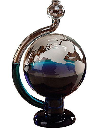 Globe Barometer Glass (Frosted Imprinted Glass)