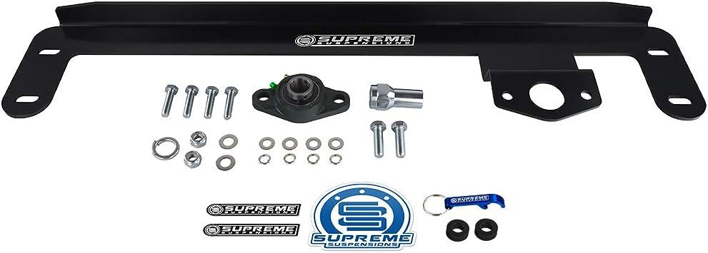 94-02 Dodge Stabilizer Bar Ram 2500 3500 4WD Steering Gear Box Wobble Fix PRO