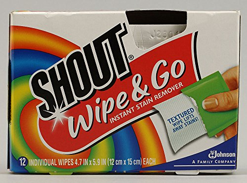 Shout Wipe 12Ct Wipes 4 Pack