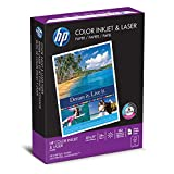 HP Printer Paper, Color Inkjet and Laser Copy Paper, 24lb, 8.5 x 11, Letter, 97 Bright - 1 Pack / 400 Sheets (202040R)
