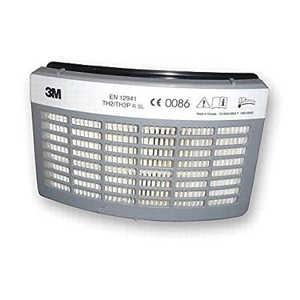 Avanzada filtros para 3 M Versaflo con Air Turbo Filtro: tr-3712e – Filtro
