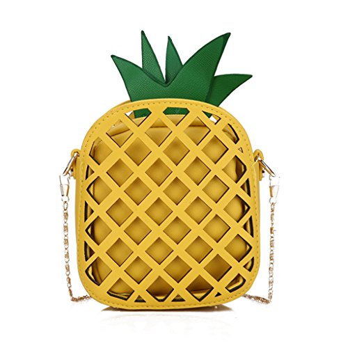Femmes JAGENIE Mignon Ananas Sac Fruit 7x4gZv