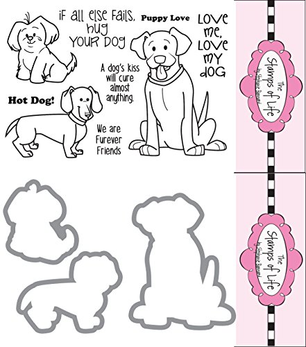 The Stamps of Life Clear Stamps & Dies, friends4cookie and Friends4cookie Die Set