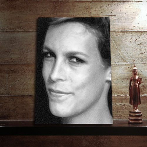Seasons Jamie LEE Curtis - Original Art Print (A4 - Signed by The Artist) #js004]()