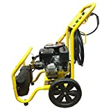 Portable Mobile 3,000 PSI Gas Cold Water Power Pressure Washer