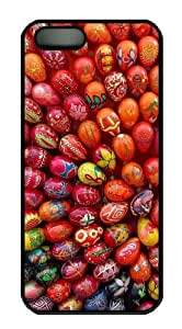 Easter Eggs uncommon iphone 5S cover PC Black for Apple iPhone 5/5S