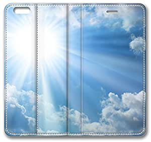 The Bright Sun, Blue Sky, Clouds iPhone 6 Case, Apple iPhone 6 (4.7