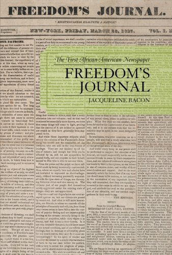 Freedom's Journal: The First African-American Newspaper