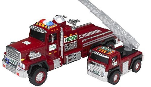 Hess 2015 51st Collectible Toy Fire Truck & Ladder Rescue]()