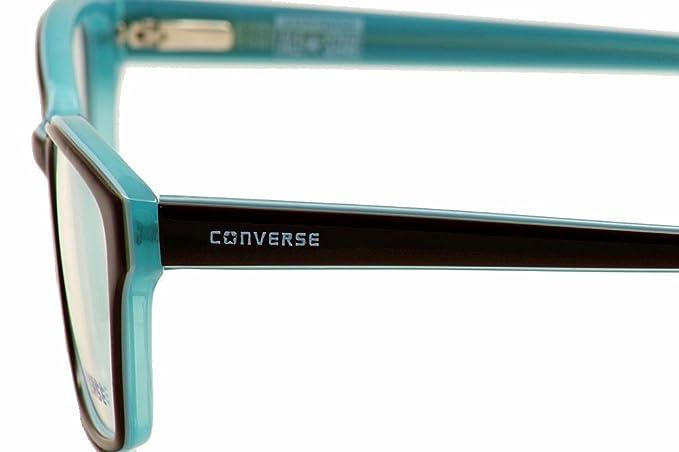 ce01cbcb39 Amazon.com  Converse Women s Eyeglasses Q048 Q 048 Brown Fashion Full Rim  Optical Frame 52mm  Clothing